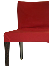 chaise b&b italia rouge