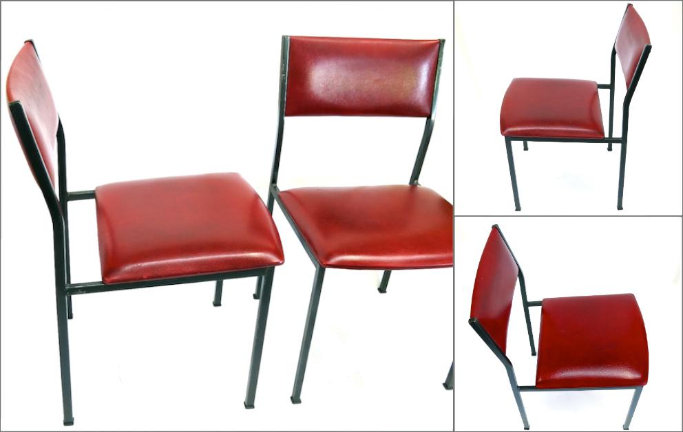 chaises lafargue aurillac cantal skai metal legeres
