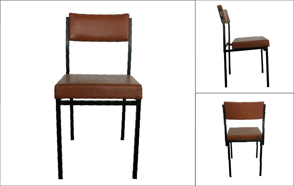 chaises porte avion cantine clemenceau