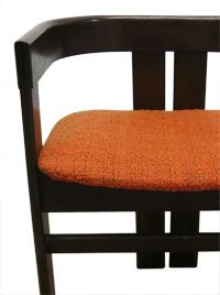 chaise tobia scarpa knoll vintage entre deux chaises