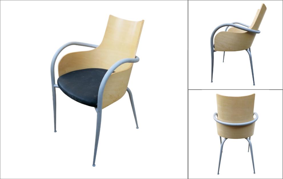 fauteuils bureau Starck Sawaya Chaise Design