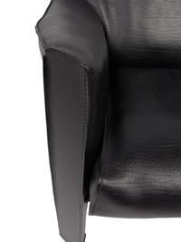 fauteuil Scarpa Noir