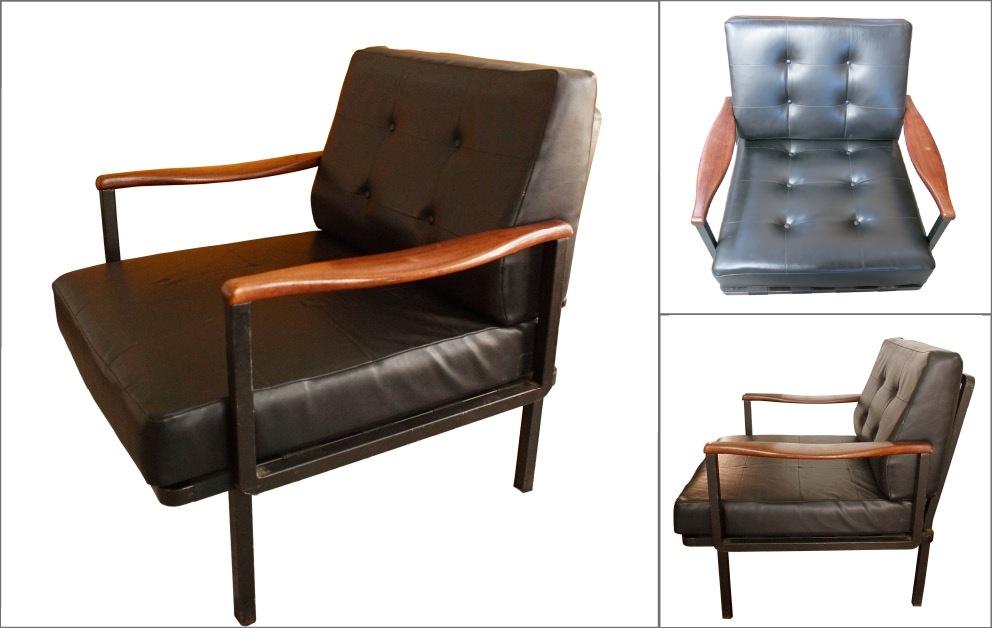 fauteuil tecno BORSANI Osvaldo Lounge Chair p24
