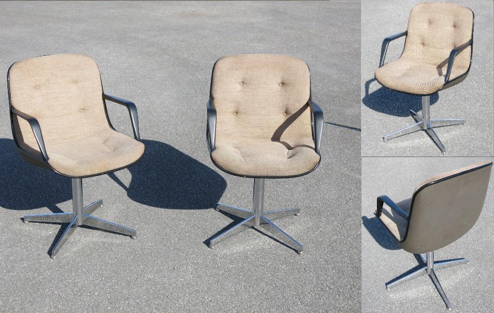pollock armchairs randall buhk 451