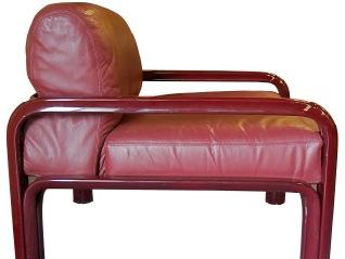 butterfly entre deux chaises vintage